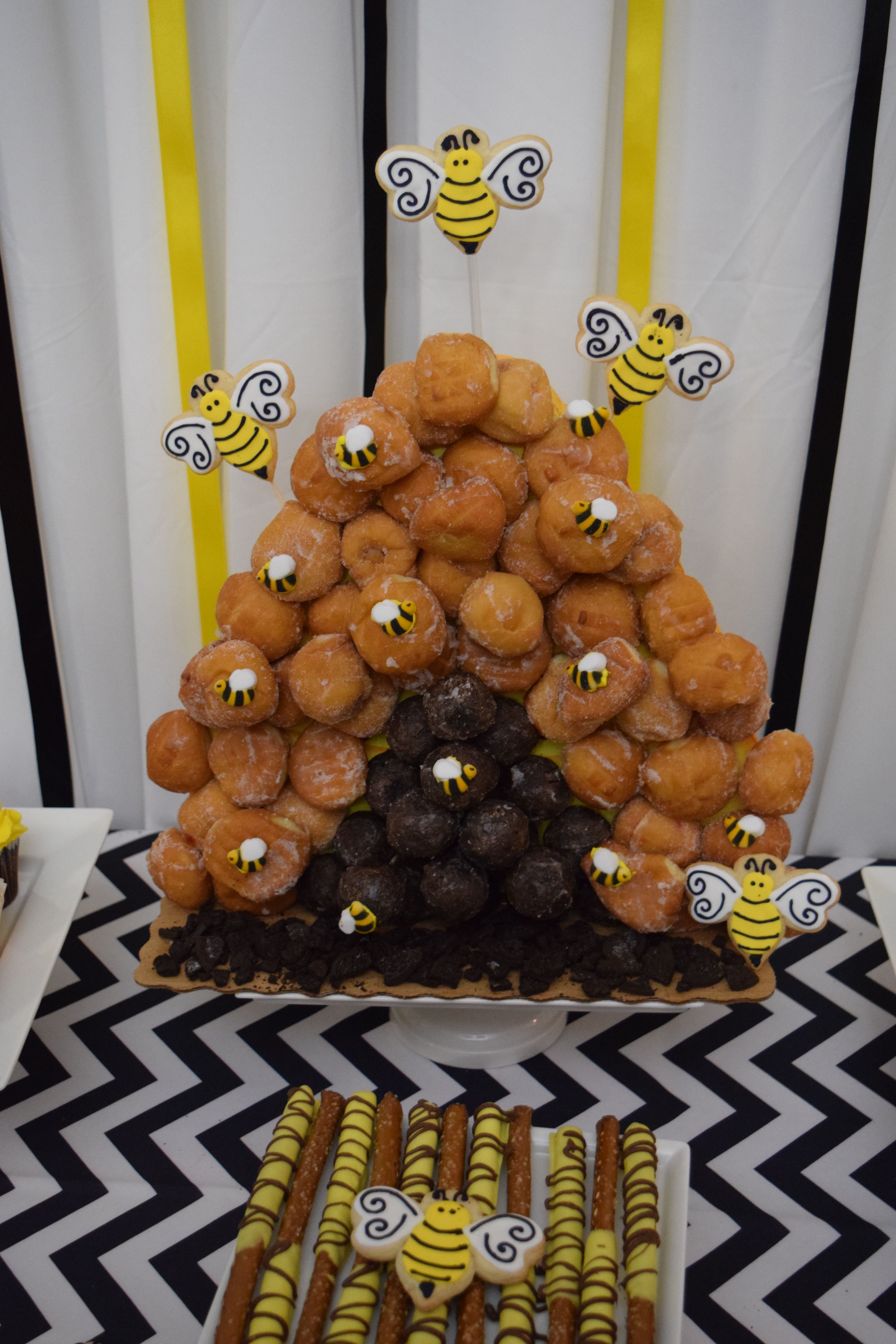 What Will It Bee Gender Reveal Party Bee Gender Reveal Baby Gender Reveal Party Gender Reveal Dessert