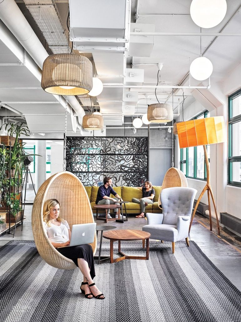 Interior Design Space: Etsy Headquarters Embrace Laptop Culture And Local Makers