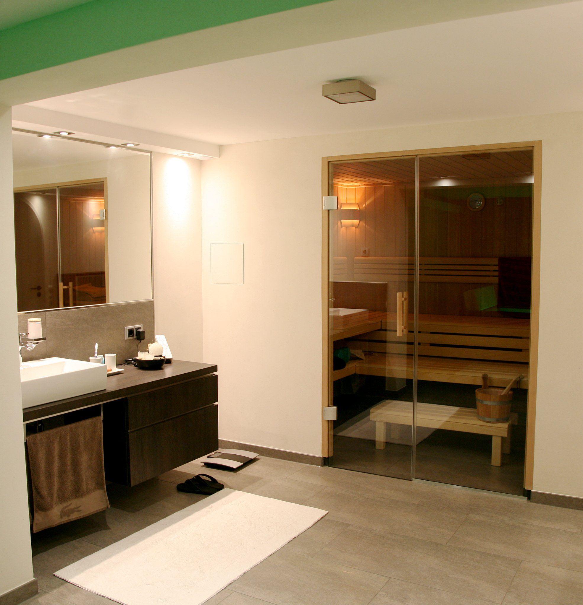 Sauna Im Badezimmer In 2019