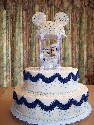 find this pin and more on fancy cakes disney mickey and minnie wedding cake