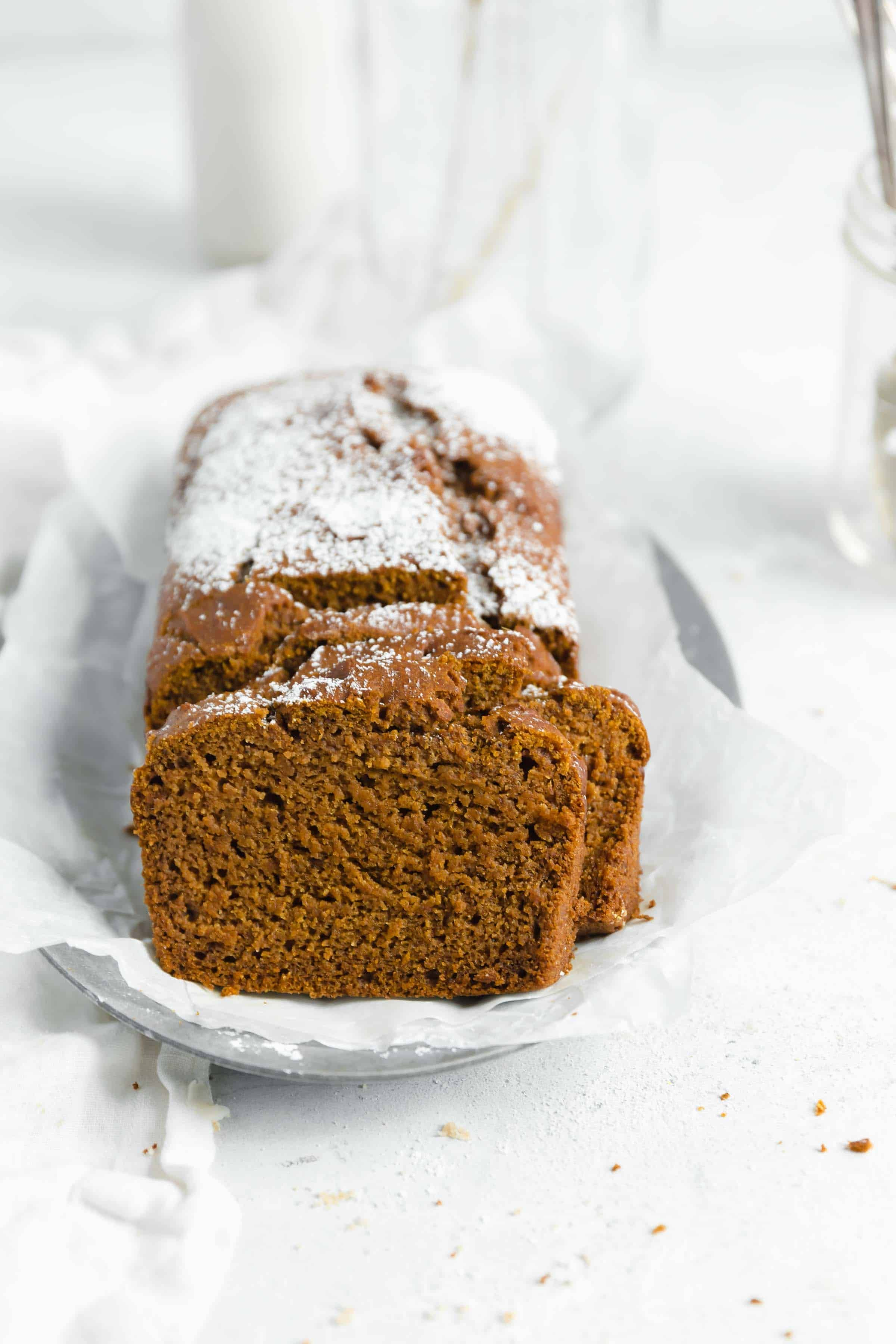 Healthy Gluten Free Pumpkin Bread Made With A Whole Cup Of Pumpkin
