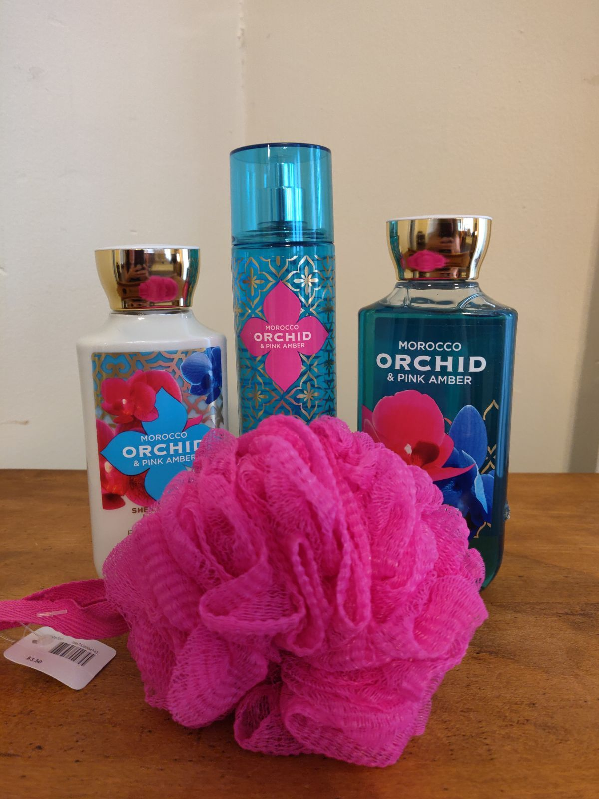 Brand New Unused Bath And Body Works Morocco Orchid Pink Amber
