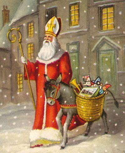 Perayaan Tradisi Natal Paling Unik, tema natal. info unik, malam natal, tradisi natal di seluruh dunia, Saint Nicholas' Day