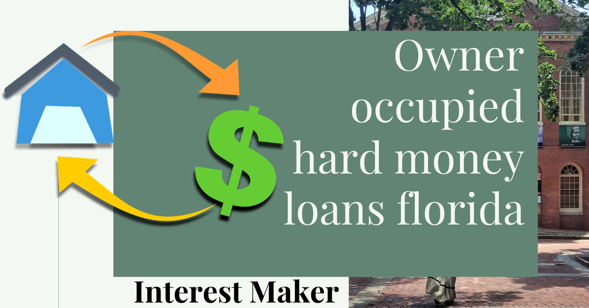 Owner Occupied Hard Money Loans Florida Top 3 Pick In 2020 Hard Money Loans Loan Fha Loan Calculator
