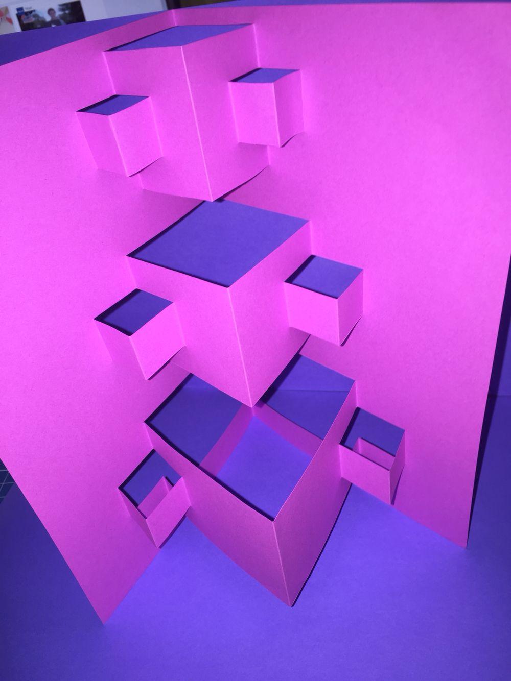 Estructuras Plegables Con Dobleces Rectos Paralelos Al Eje De  # Muebles Volumen