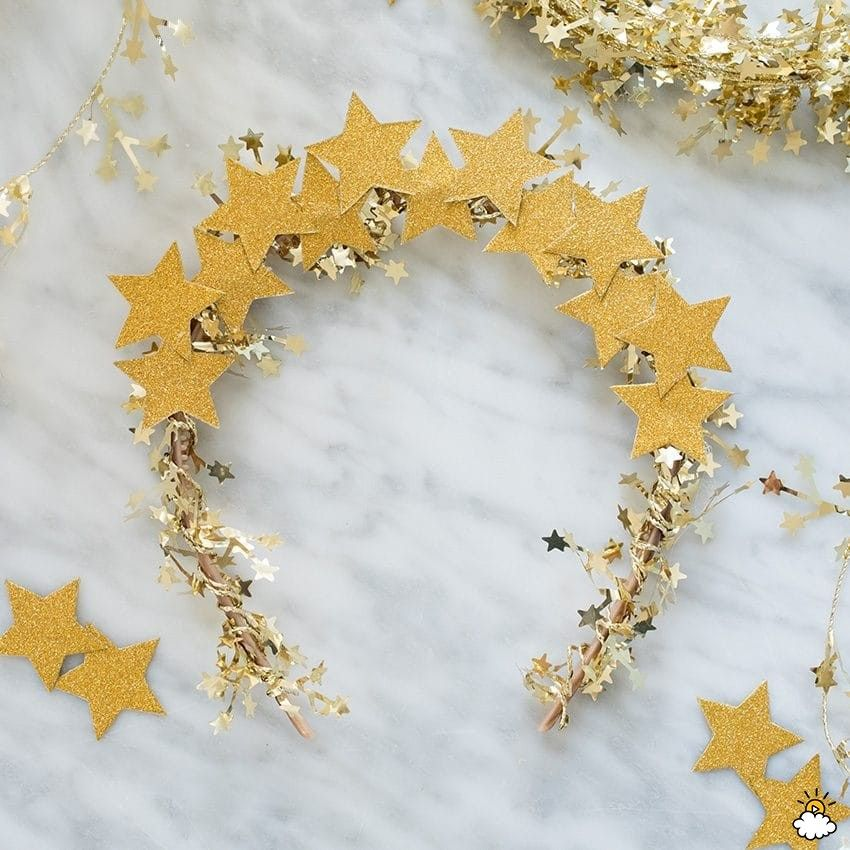 Sparkly New Years Eve Headbands To DIY Before The Ball Drops