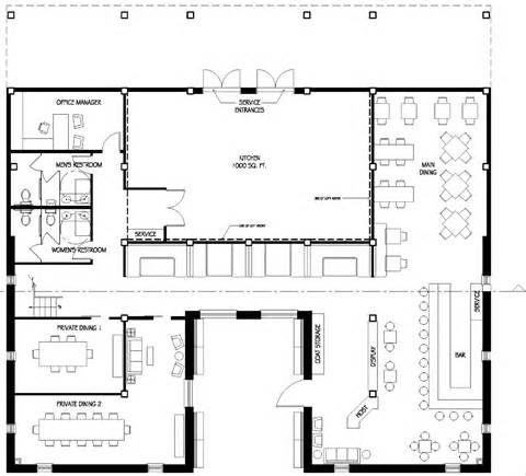 Restaurant Floor Plan Builder Restaurant Floor Plan Restaurant