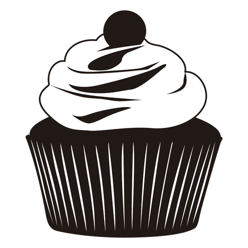 Silhouette Of Cupcake Illustration Png Image Download As Svg Vector Eps Or Psd Get Silhouette Cupcake Illustration Wedding Cupcake Display Wedding Cupcakes