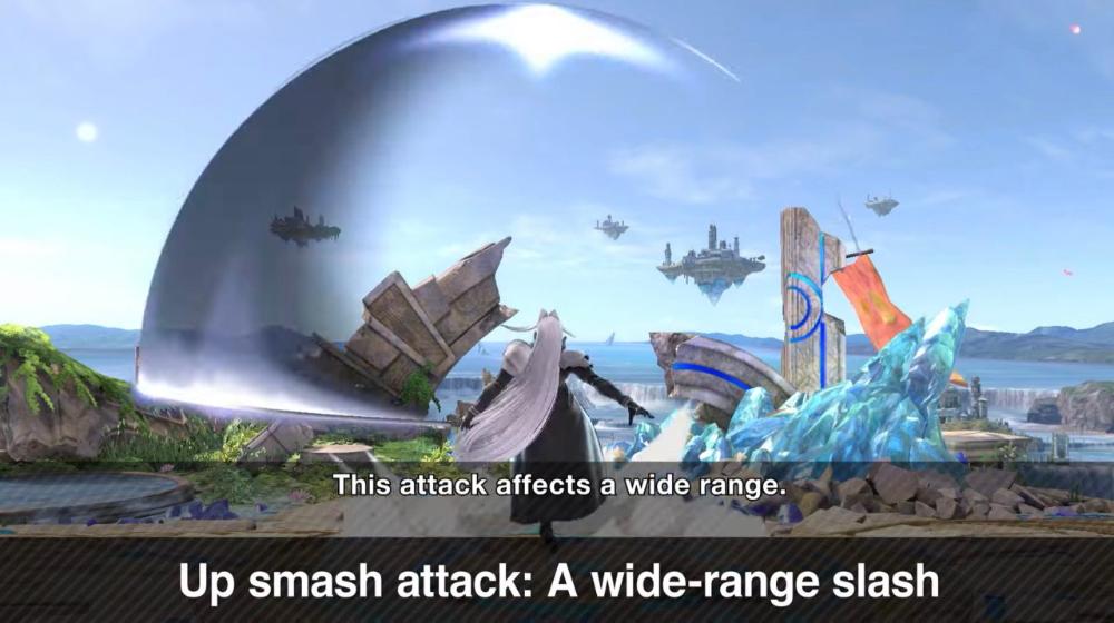 How To Play As Sephiroth In Super Smash Bros Ultimate Masahiro Sakurai Reveals All Otaquest Smash Bros Super Smash Bros Sephiroth