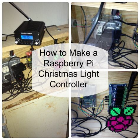 Raspberry Pi Christmas Lights Controller