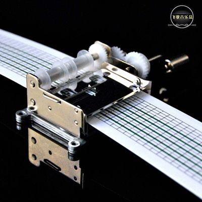DIY Mechanical music player turn by hands Assembly blocks ...