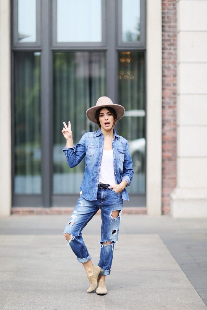 Dulceida: TOP DENIM