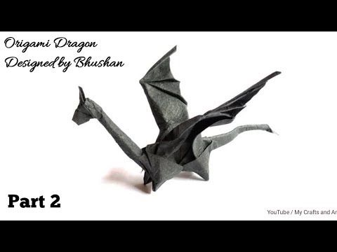 Photo of Origami Dragon ( by Bhushan) Part 2