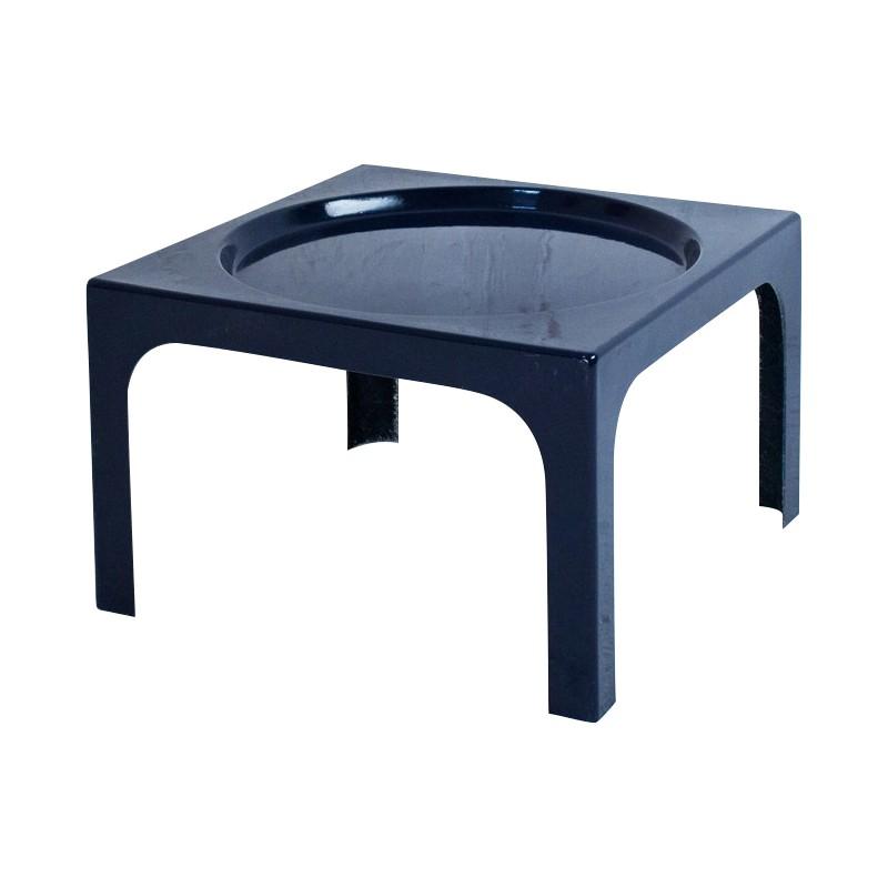 Table Basse En Fibre De Verre Bleue Marine Marc Berthier 1970 Design Market Verre Bleu Fibre De Verre Table Basse