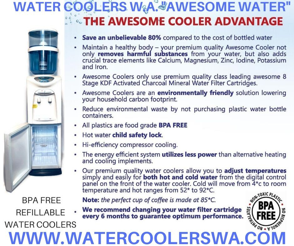 WATER COOLERS SAVE THE ENVIRONMENT. STOP BUYING BOTTLED
