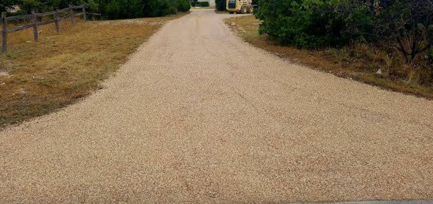 Chip Sealing A Driveway In Georgetown Texas Chip Seal Tar And Gravel Paving Gravel Pave Paving Asphalt Pavement