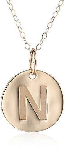 Duragold 14k yellow gold initial pendant necklace 18 httpwww duragold 14k yellow gold initial pendant necklace 18 httpwww mozeypictures Gallery