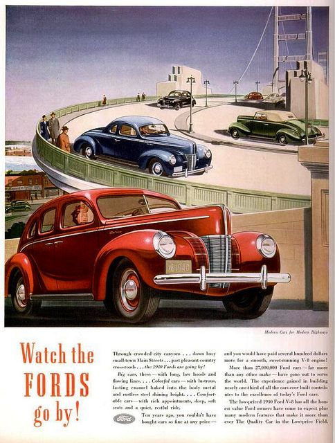 Ford 1937 Car Posters Vintage Advertising Posters Vintage Ads