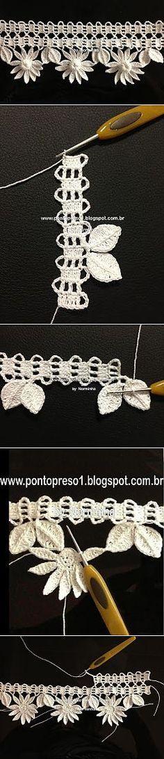 Dantele russe   Crochet russe, motif au crochet, napperons au crochet   – dantel