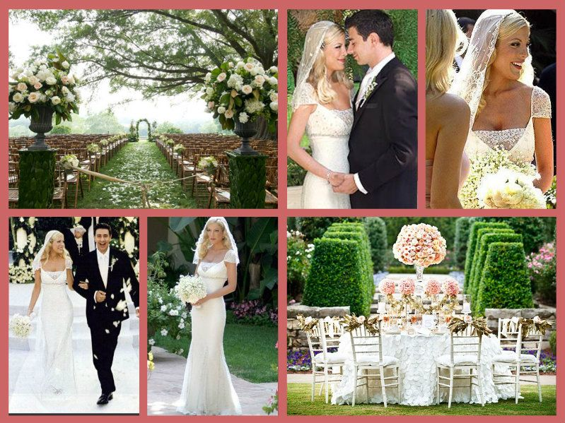 On July 3 2004 Hollywood Royalty Tori Spelling Married Actor