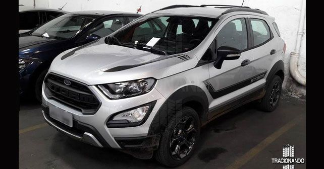 Awd Ford Ecosport Storm Gets Aggressive Styling Autox Cars