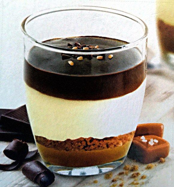 Print Caramel Mousse With Sea Salted Caramel Sauce Chocolate