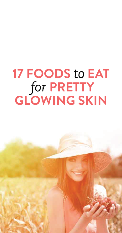 Best foods to eat for clearer, more radiant skin #health #beauty