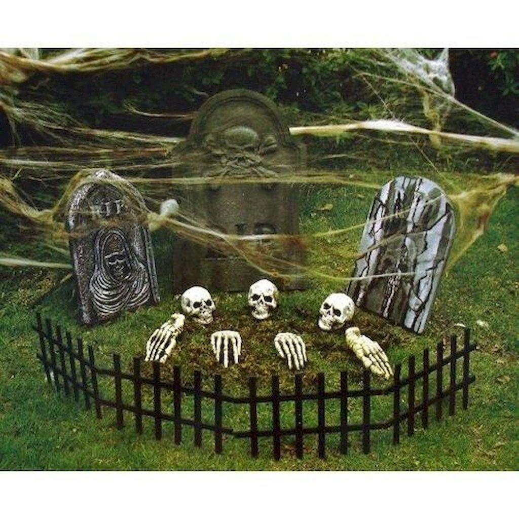 70+ Halloween Outdoor Decorations With Scary Spell