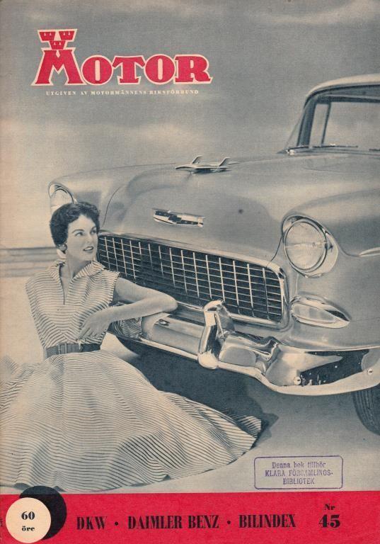 Swedish motormagazine 1955