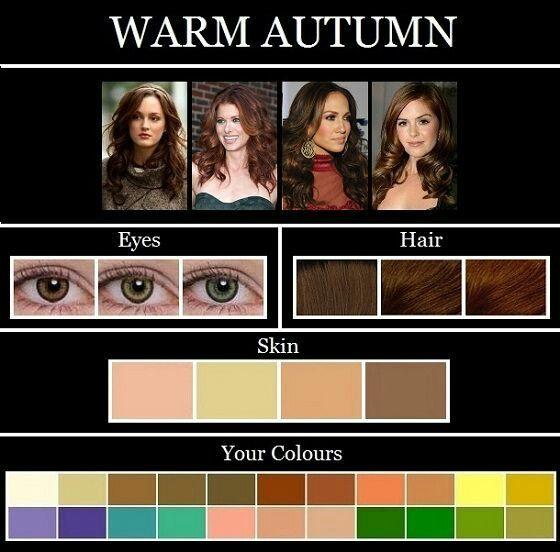 Warm Autumn Warm Autumn Colors For Skin Tone Skin