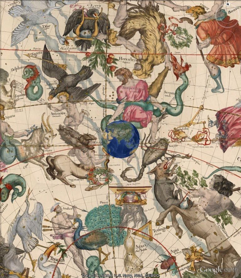 Mapping the Heavens 1693