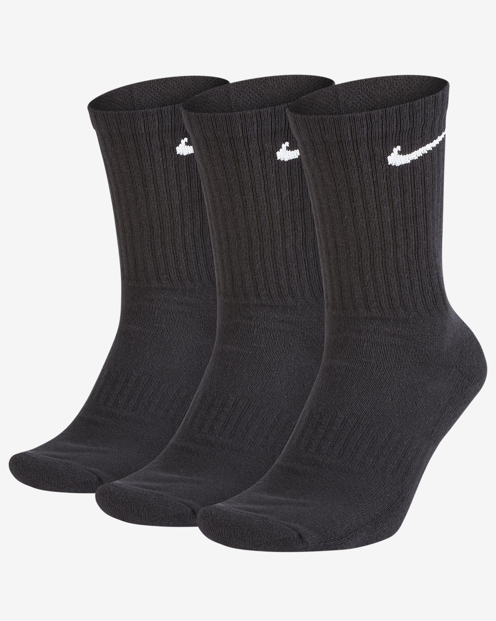 Photo of Nike Everyday Cushioned Training Crew Socks (3 Pairs). Nike….