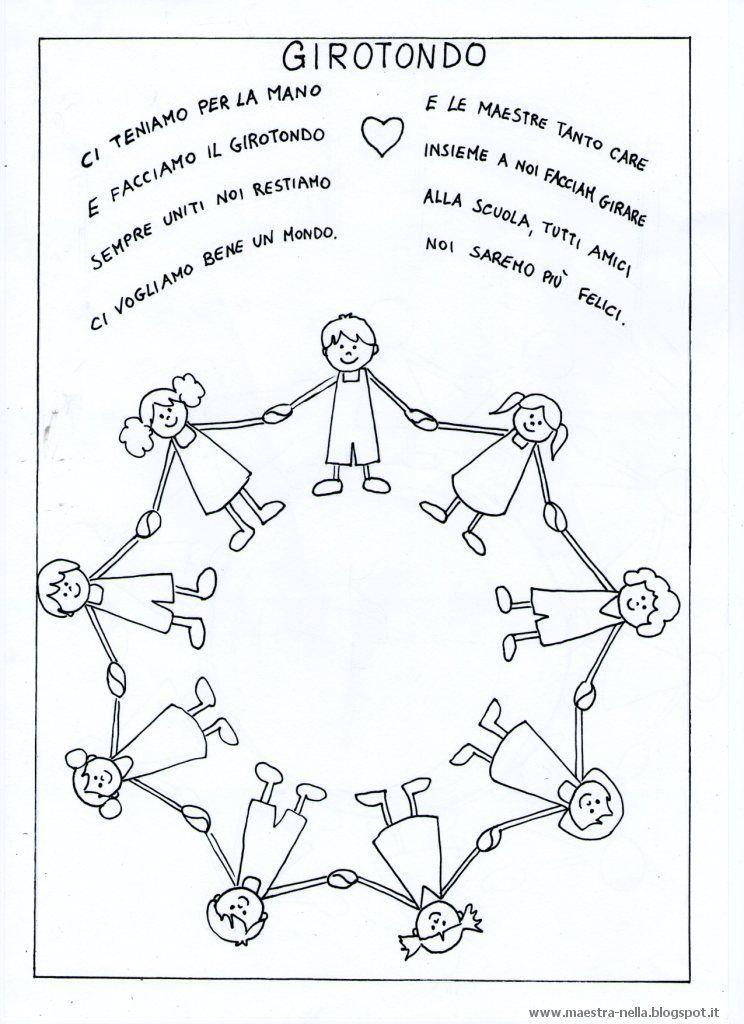 Disegni idee e lavoretti per la scuola dell 39 infanzia e for La classe della maestra valentina accoglienza