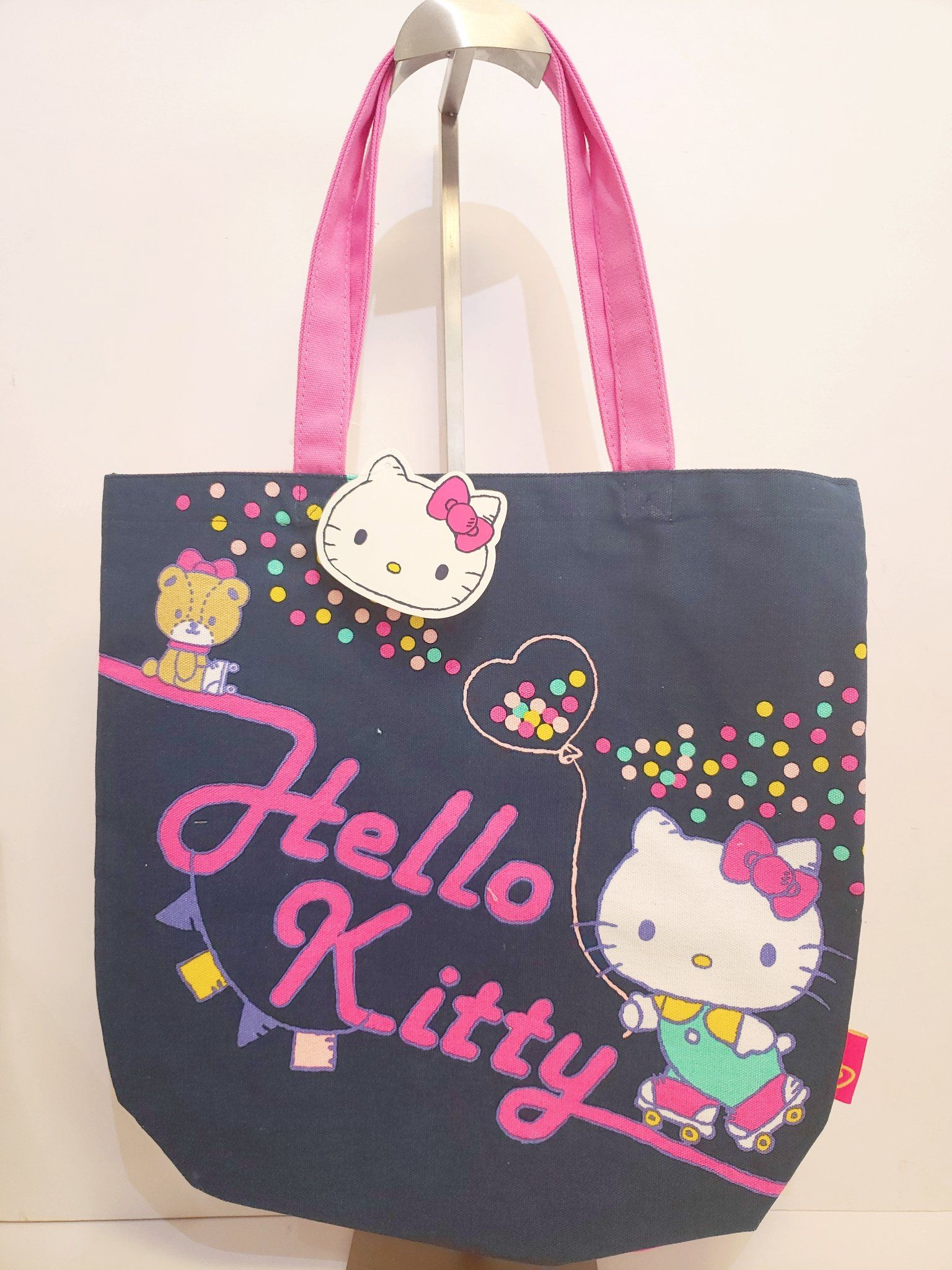 9918e1429 Hello Kitty Canvas Tote Bag | Sanrio Totes | Canvas tote bags, Bags ...