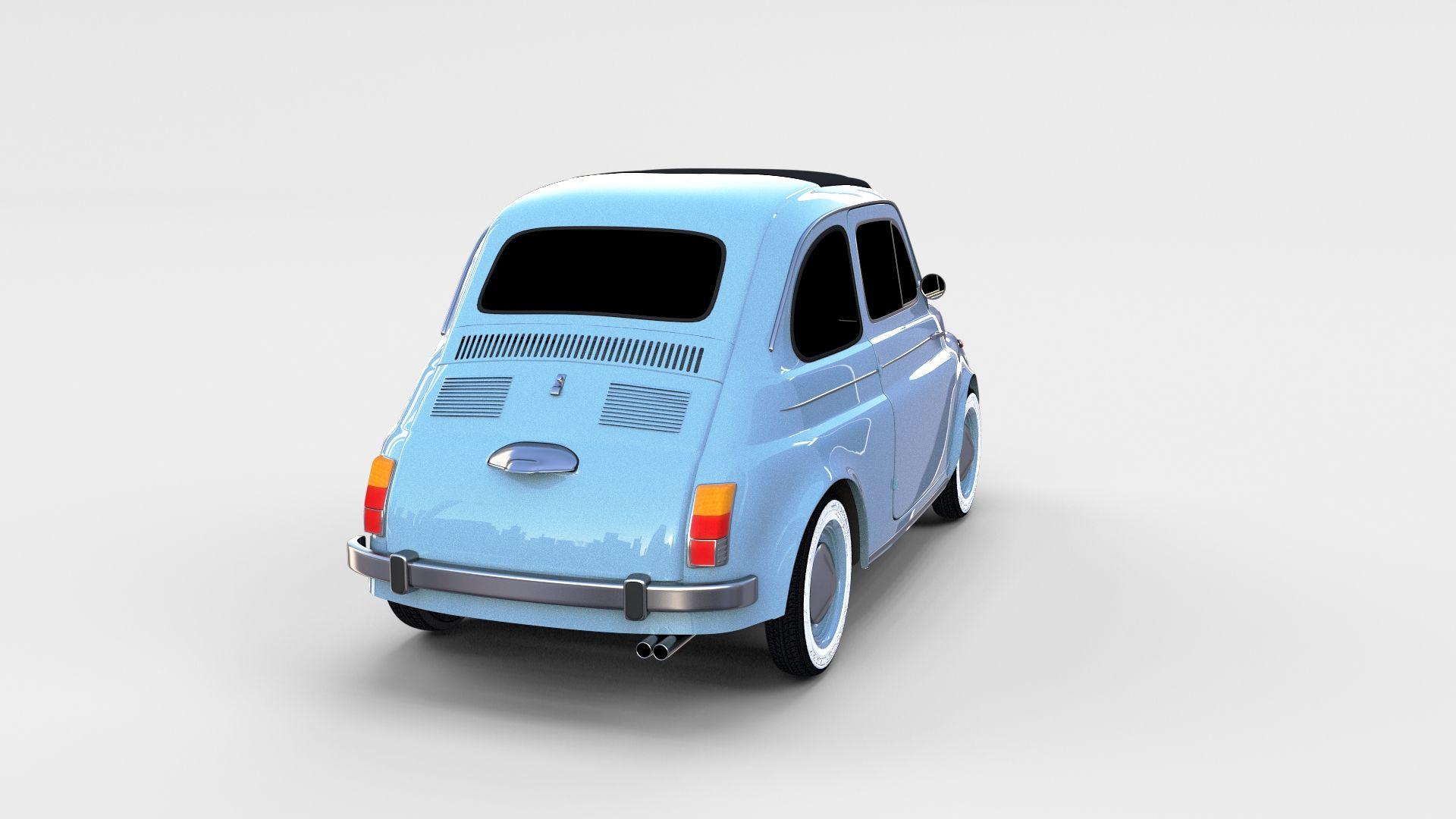 Fiat 500 Nuova 1957 Rev Fiat 500 Fiat Independent Design