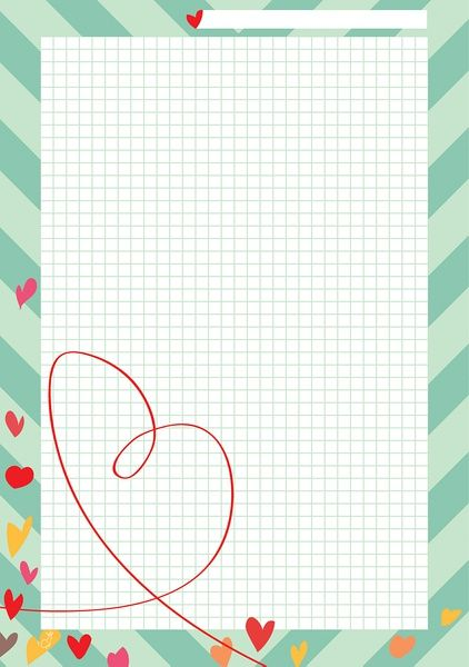 Happy Valentine! A5 template ready for download! I LOVE FILOFAX - blank memo template