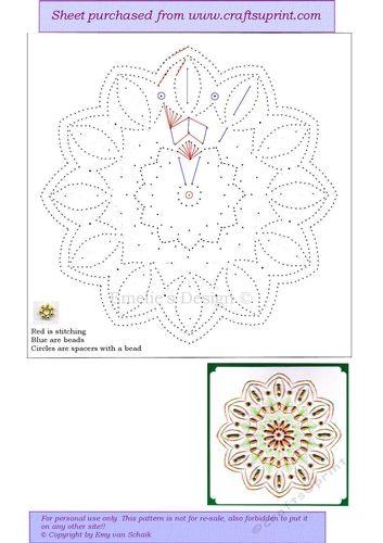 ED150 Mandala Blumen