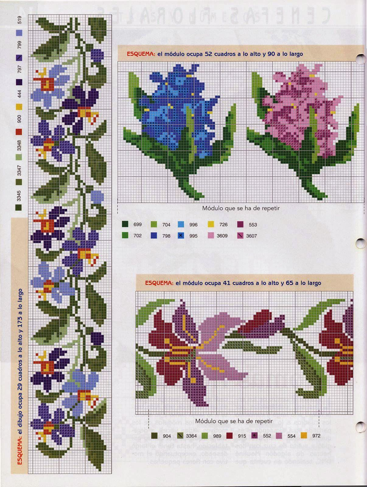 Victoria - Handmade Creations: Embroidery-designs   Flores ...