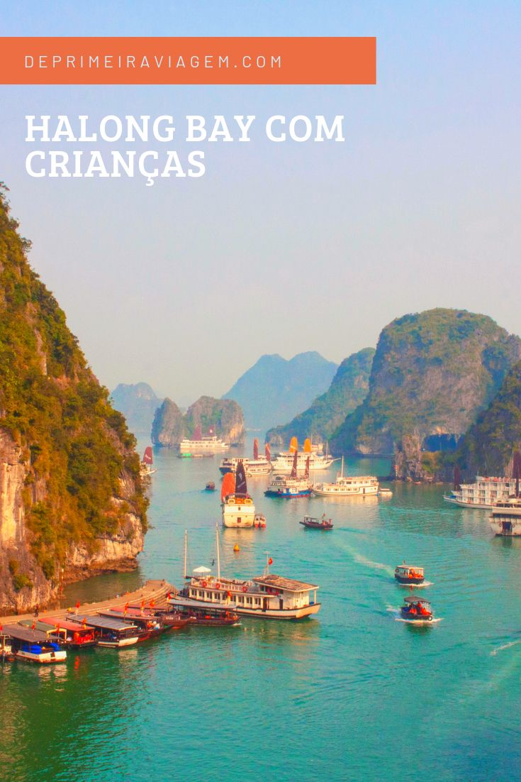 Visitando Halong Bay Com Criancas Nosso Cruzeiro Viagem Com