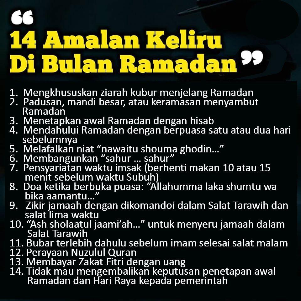 Bid Ah Dalam Ajaran Islam Yang Tidak Ada Tuntunannya Dari