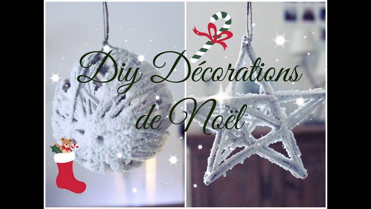 [DIY] 🎄Décorations de Noël Faciles et Rapides Décoration