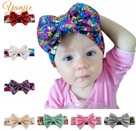 Knot Bow Headband Knot Bow Floral Know Bow Wrap Floral Hair Band Spring Floral Knot Bow Headband Girls Headwrap Floral Baby Headwrap