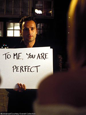 Love Actually. Guilty pleasure movie and pretty much the only chick flick I watch often.