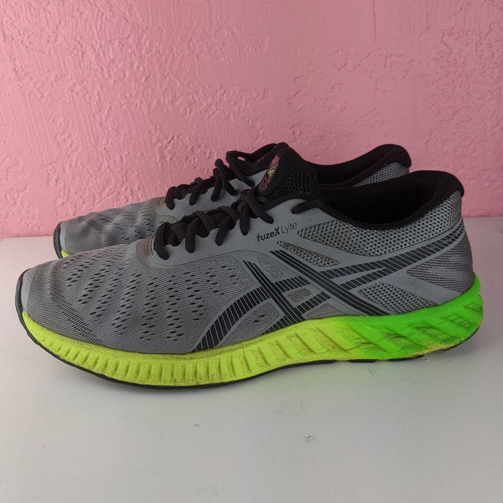 Asics fuzex lyte grey in 2021   Asics shoes, Asics, Shoes