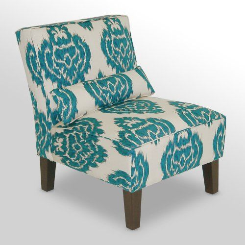 Find It At The Foundary Diamonds Teal Armless Accent Chair 261 Accent Chair Teal Diamond