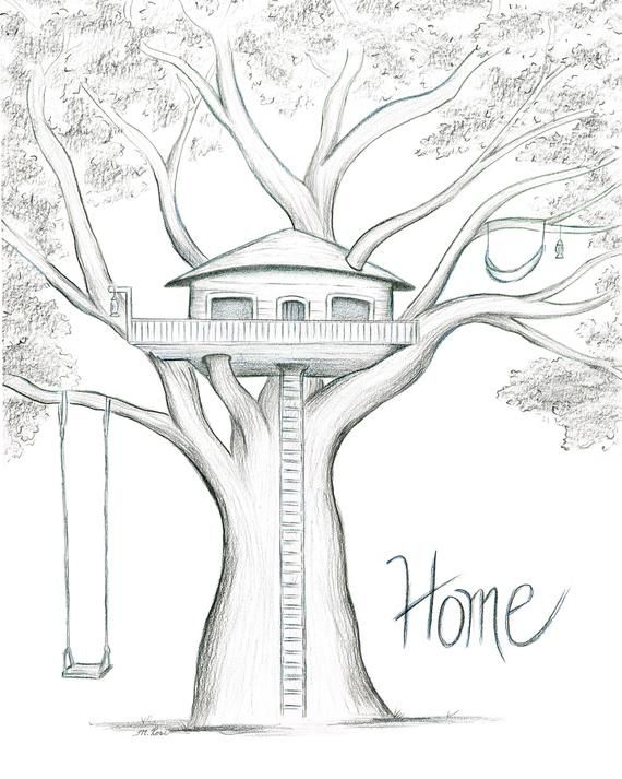 Home is Where the Tree House is
