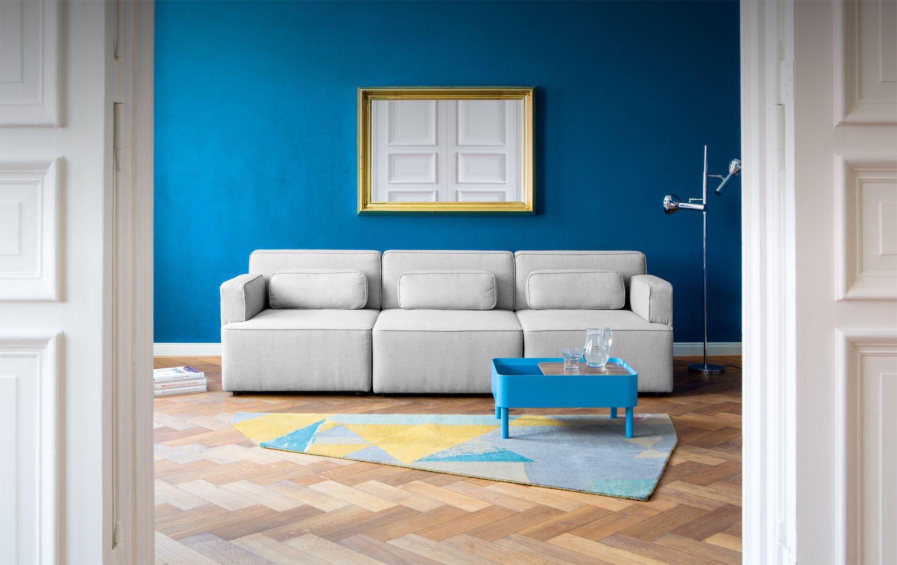 Das Sofa SET entwickelt in Zusammenarbeit mit dem Designer Steffen