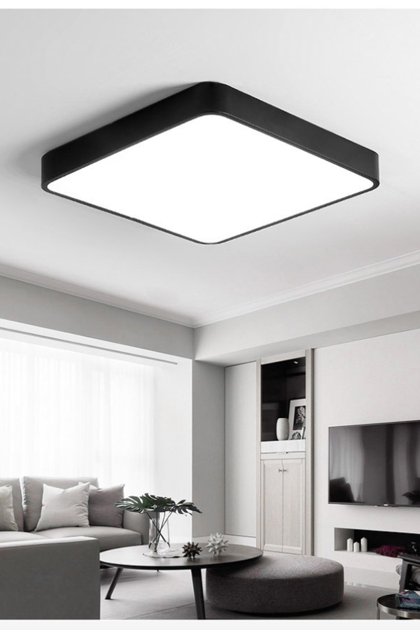 Ultra Thin Square Led Ceiling Lamp Kitchen Light Fixtures Living