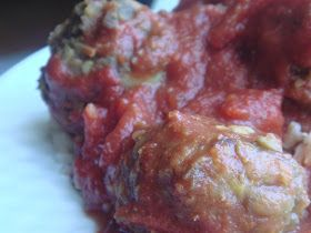 Vegetarian crockpot meatballs