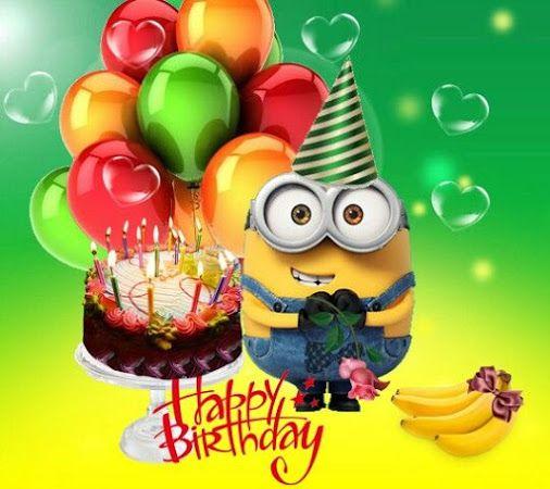 Fur Alle Die Heut Geburtstag Haben Minions Geburtstag